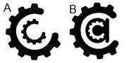 Logo choices A vs B