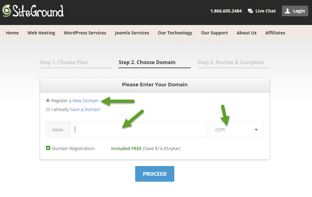 How to set up your website hosting in 3 minutes or less