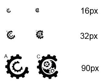 Come Alive Creative Logo Scale Examples